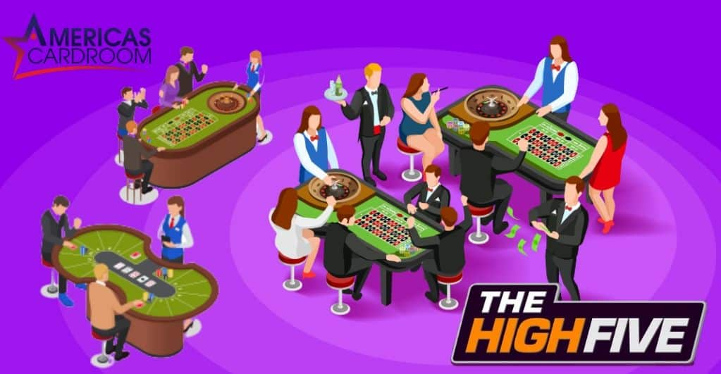 High Five Poker Events to be Held at Americas Cardroom