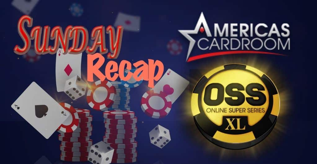 Americas Cardroom OSS XL Turns Out to Be a Real Head-turner This Sunday