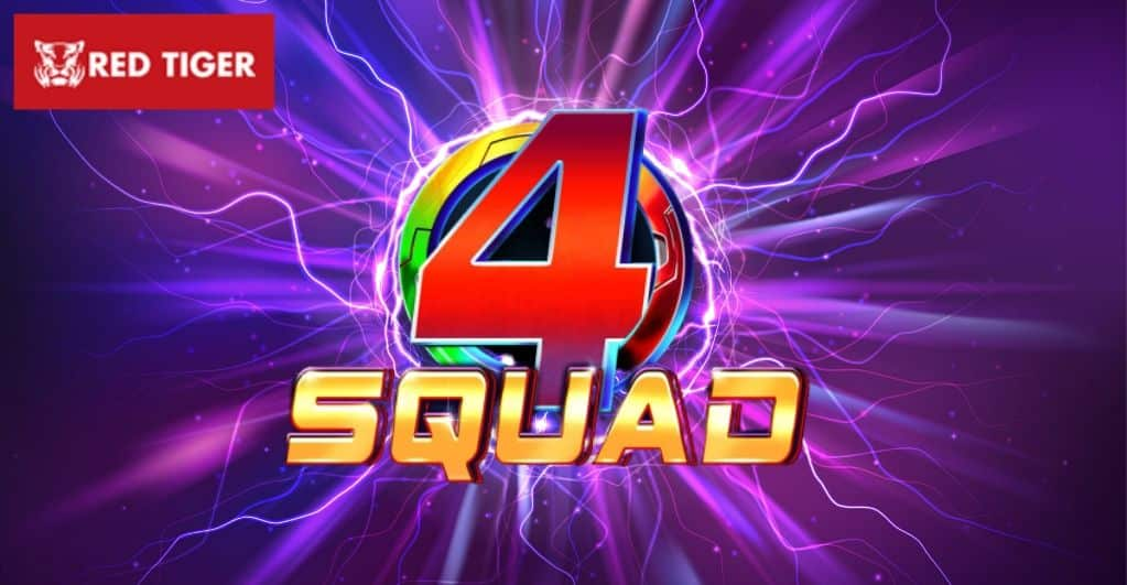 Red Tiger Gaming Brings You the latest 4Squad Slot