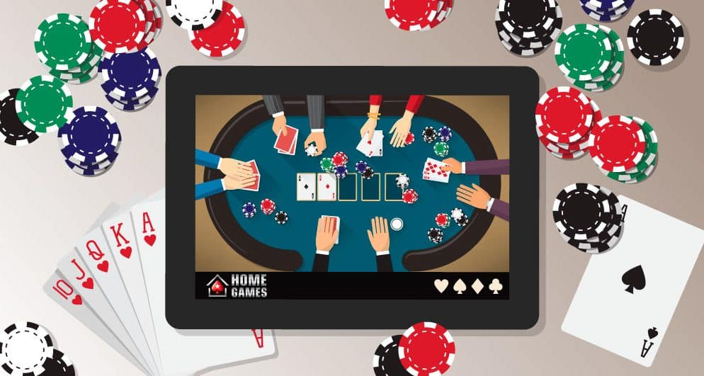 Go Crazy at Home with Online Poker Games