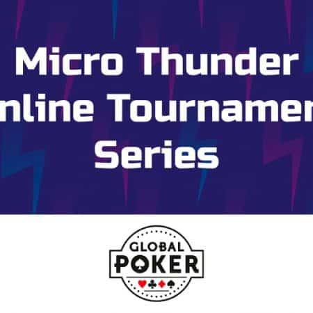 Global Poker Micro Thunder Series begins in September