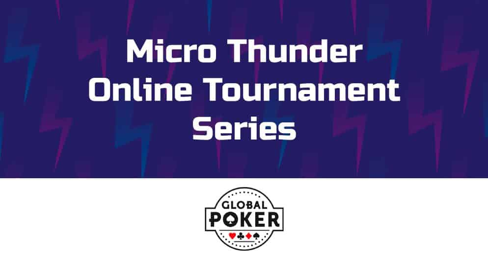 Global Poker Micro Thunder Series begins in September