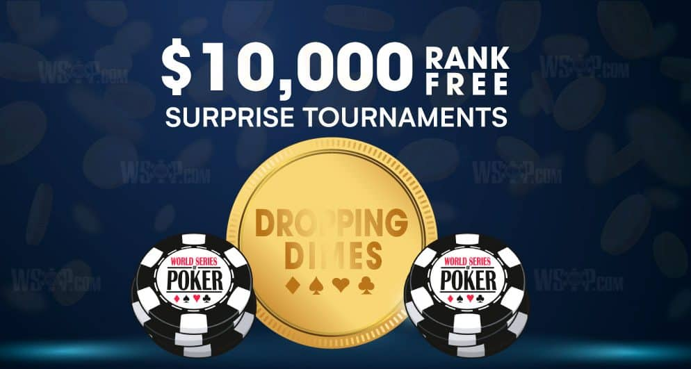 WSOP's Free Poker Tournament Offering Guaranteed $10,000
