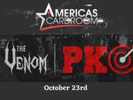 Americas Cardroom to Run the $5 Million Venom PKO Tournament