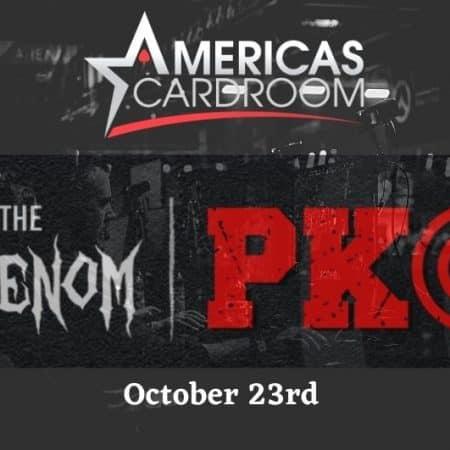 Americas Cardroom to Run the $5 Million Venom PKO Tournament